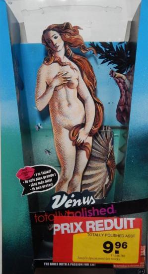 Boîte de poupée Vénus